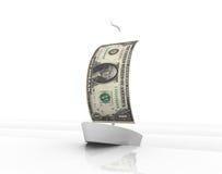 Dollar-Boot Stockfotos