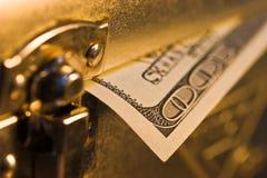 Dollar box Stock Photo