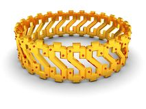 Dollar bracelet Stock Photos