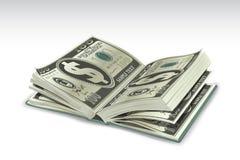Dollar-Buch lizenzfreie abbildung