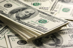 Dollar buntnärbild Royaltyfri Fotografi
