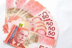 Dollar canadien intense 2 Photos stock