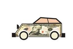 Dollar car Royalty Free Stock Photo