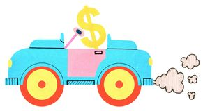 Dollar car Stock Images