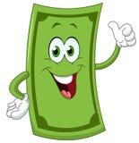 Dollar cartoon Royalty Free Stock Photos
