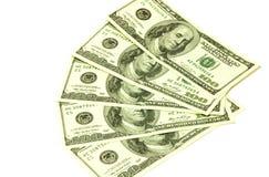dollar cent un de billets de banque Photos libres de droits