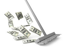 Dollar Cleaning Stock Photography