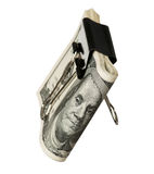 Dollar with clip Stock Image