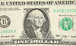 The dollar close up Royalty Free Stock Photography