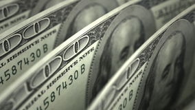 Dollar Close-up Royalty Free Stock Photography