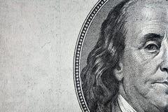 Dollar closeup. Royaltyfri Foto