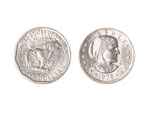 Dollar coin Royalty Free Stock Images