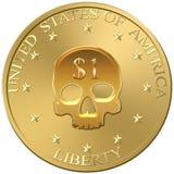 Dollar coin Stock Photos