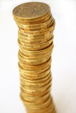Dollar coins stock photos