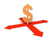 Dollar concept. Stock Image