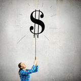 Dollar concept Royalty Free Stock Photography