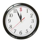 Dollar countdown Royalty Free Stock Image