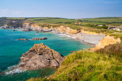 Dollar Cove Gunwalloe Cornwall Royalty Free Stock Images