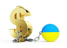 Dollar crisis Ukraine Stock Photos