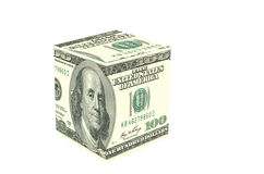 Dollar Cube Royalty Free Stock Photo