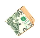 Dollar cube Stock Photo