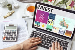 Dollar Currency Financial Transaction Invest Success Concept Stock Images