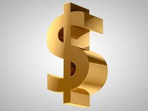 Dollar Currency Sign Stock Image