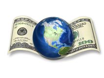 Dollar - the currency of the world! Stock Image