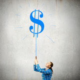 Dollar currency Stock Image