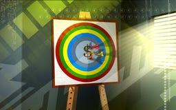 Dollar dart Stock Images