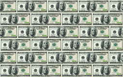 dollar de 100 factures de fond