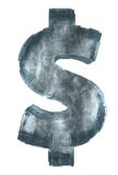 Dollar de glace Image libre de droits
