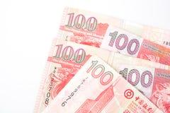 dollar 100 is de nationale valuta van Hong Kong Royalty-vrije Stock Afbeelding