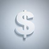 Dollar de papier Photo stock