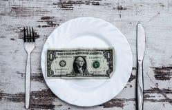 Dollar de plat images stock