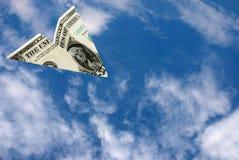 Dollar de vol Photographie stock