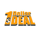 Dollar deal advertising Royalty Free Stock Photo