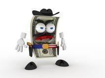 Dollar der Cowboy Lizenzfreie Stockfotografie