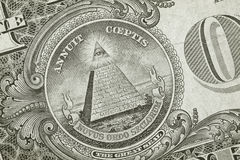 Dollar Detail Pyramid Royalty Free Stock Photo