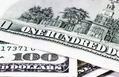 Dollar detalj Royaltyfri Fotografi