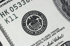 Dollar detalj Royaltyfria Foton