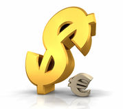 Dollar Domination Royalty Free Stock Photos