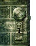 Dollar Door Royalty Free Stock Photo