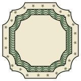 Dollar emblem seal  icon Stock Photography