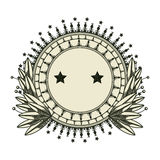 Dollar emblem seal  icon Stock Image