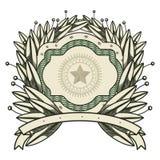 Dollar emblem seal  icon Stock Photo