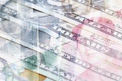 Dollar en Renminbi Stock Afbeeldingen