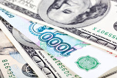 Dollar en Roebel Stock Afbeelding