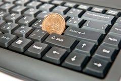 Dollar for enternet Stock Photos