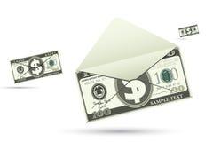 Dollar Envelope Royalty Free Stock Image